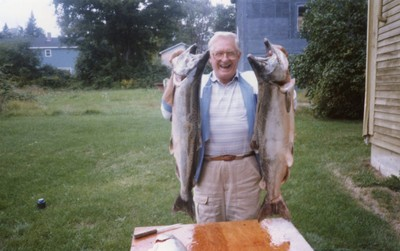 Our Communications Manager's grandfather - what a catch!