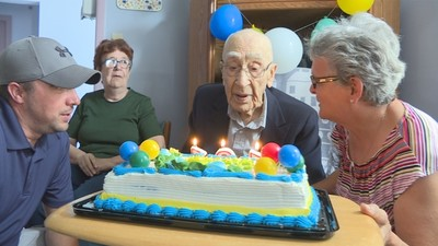 Chester Banks - 101 years young!