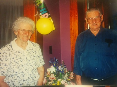 Joe & Mildred Connors, our ACCA Communications Manager's Grandparents!