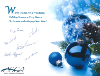 Happy Holidays from ACCA!
