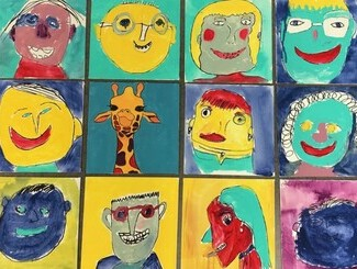 Good News Story - Art Therapy Project Allows Seniors to Express Themselves!